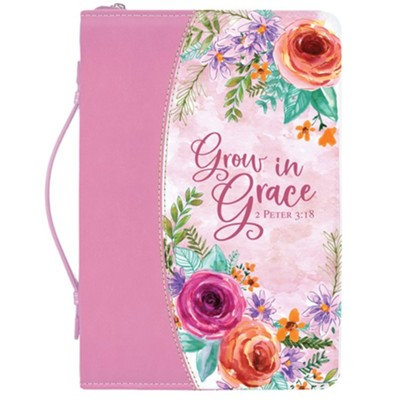 Bible Cover- Grow in Grace XL