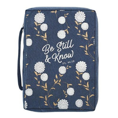 Be Still and Know Bible Cover