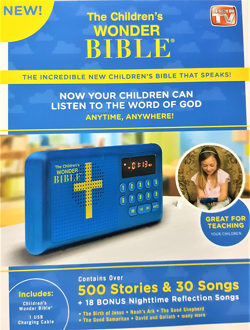 Children's Wonder Bible