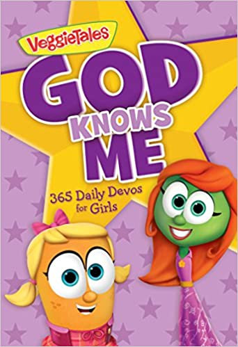 God Knows Me-365 Daily Devos for Girls