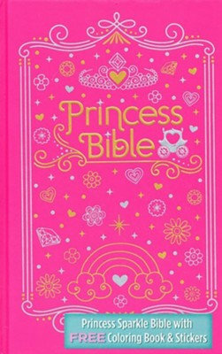 ICB Princess Bible with Free Colouring and Sticker Book