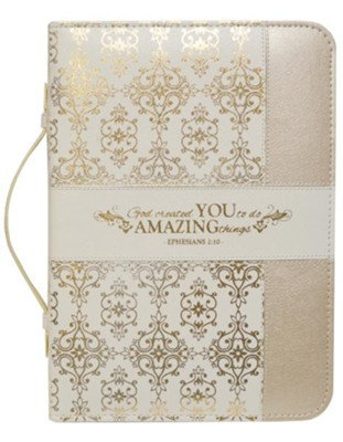Created to do amazing things Bible Cover