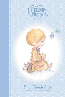 NKJV Precious Moments Small Hands Bible