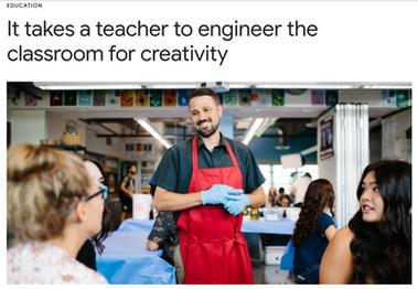 It Takes a Teacher.