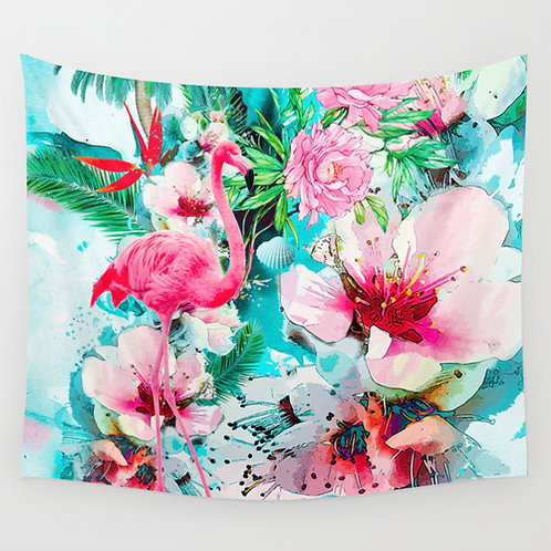 Tropical Life WALL TAPESTRY