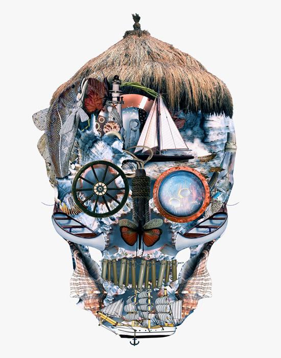 Skull Ocean