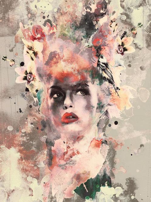 Attractive Women Art Print