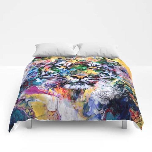 Tiger Comforters - Bedroom - Modern - HomeDecor - Art