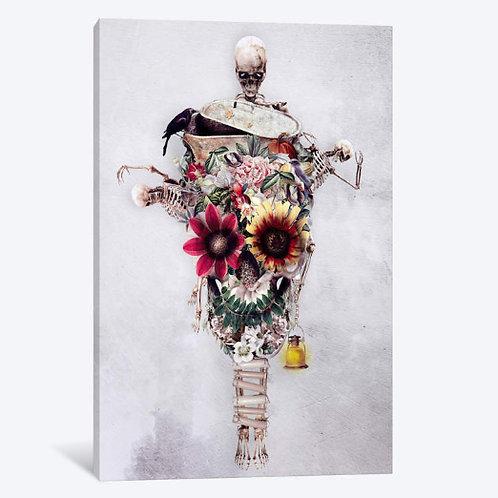 Scarecrow Canvas, Framed Canvas, Framed Print.