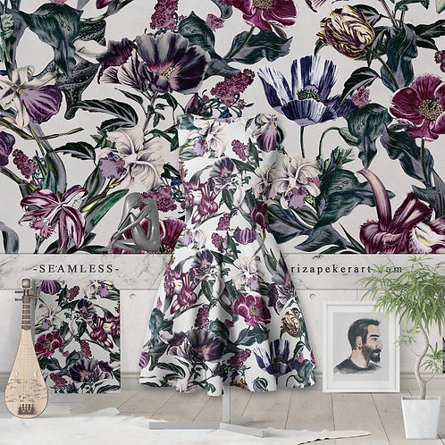Seamless Pattern, Repeating Pattern - Fashion Designers, Wallpapers.