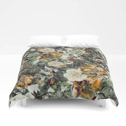 Duvet Cover, Duvet, Furniture, Bedding, Floral