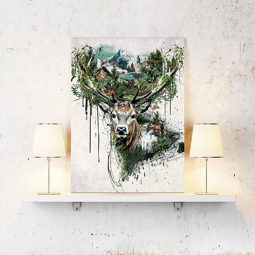 Art Print-DIGITAL DOWNLOAD - Digital Art - Wall Art Print - PRINTABLE Art