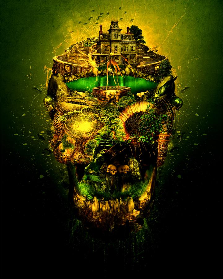 Haunted Skull II