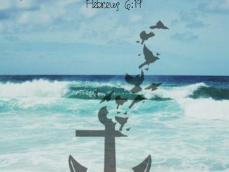 HOPE IS AN ANCHOR FOR THE SOUL