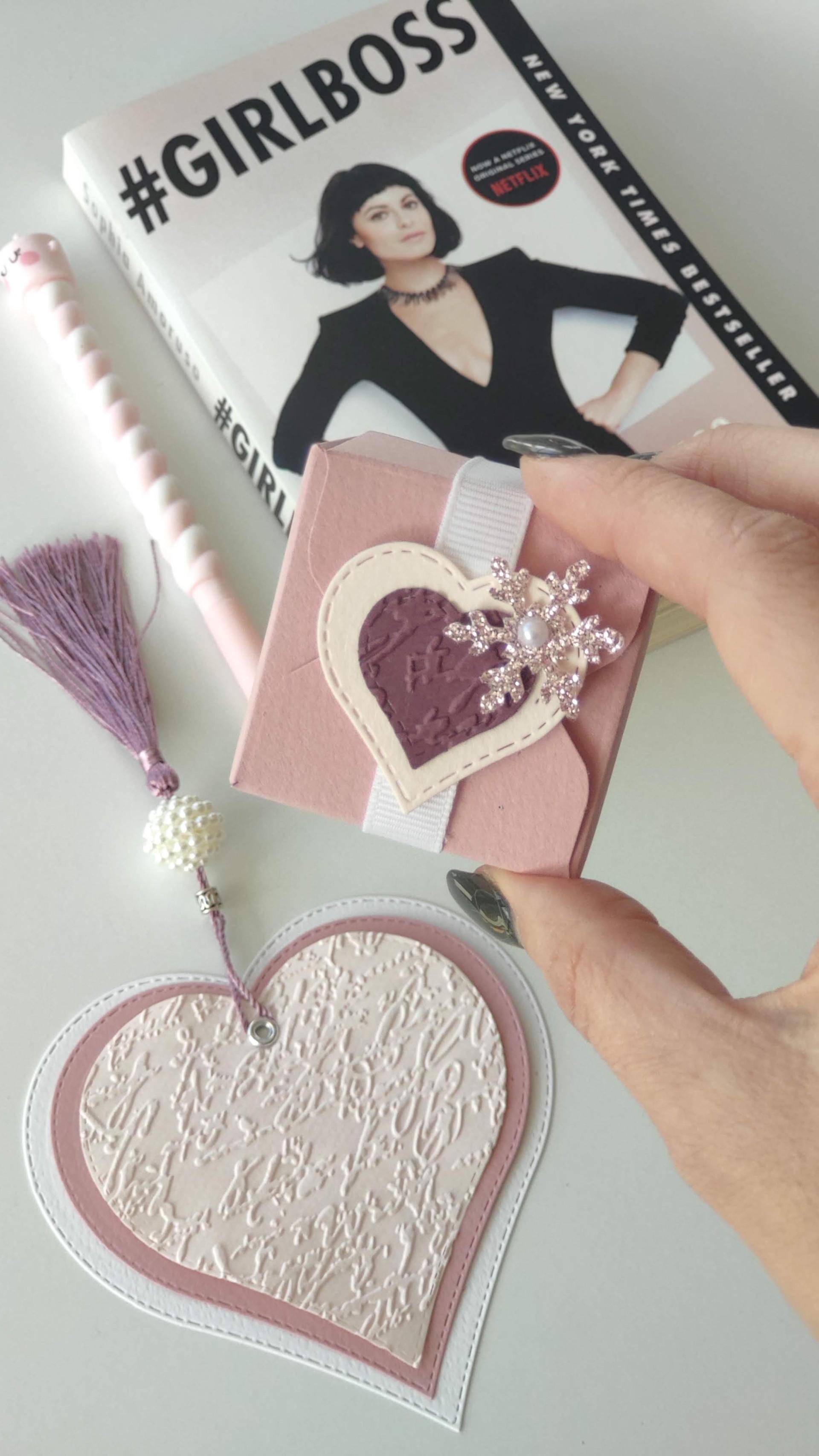 Bombom Box Pink Heart