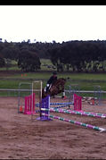 Clear SJ first outing Bacchus Marsh HT