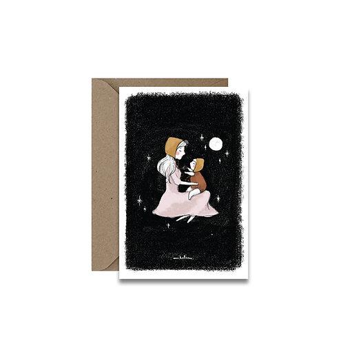 """Carte """"Maman et moi..."""""""