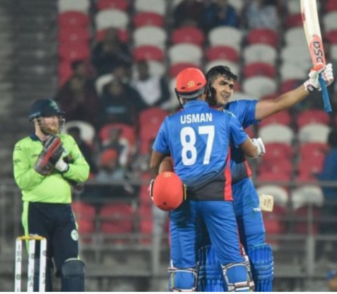 Highest team score in T20I