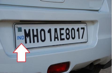 High security number plates