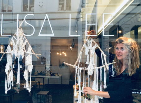 Dreamcatchers in de etalage @elisalee