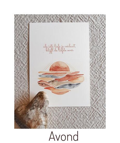 Postkaarten zonder enveloppe