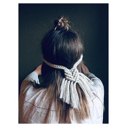 Haarbandje linnen