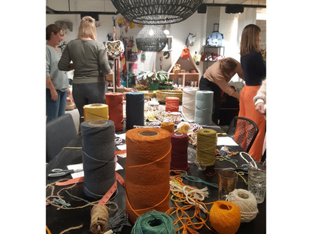 Workshop wanddecoratie @escapestore in Bankenberge