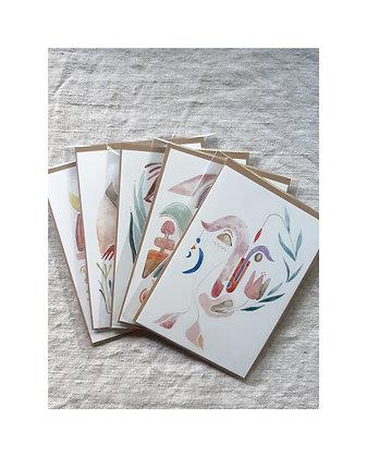 Kaarten met enveloppe