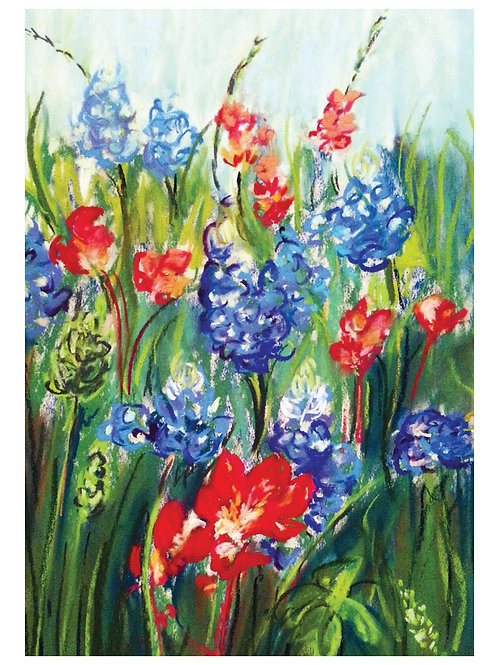 Red, White, & Bluebonnets