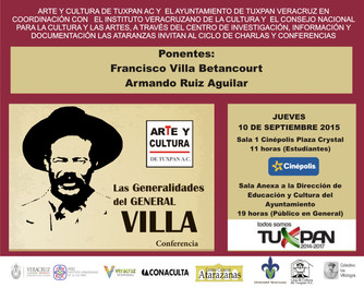 Francisco Villa en Tuxpan