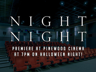 NIGHT NIGHT SCREENING AT PINEWOOD STUDIOS!