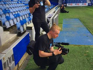 FILMING AT QPR