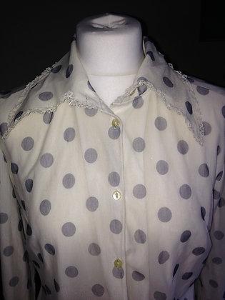 Grey spot shirt