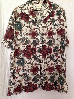 Etams flower print shirt.