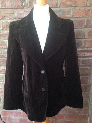 Dark brown 1970's jacket