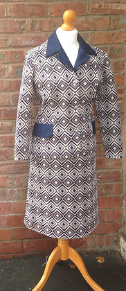 1970's skirt suit