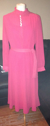 1970's pink dress