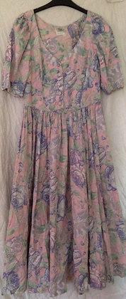 1980's laura Ashley dress