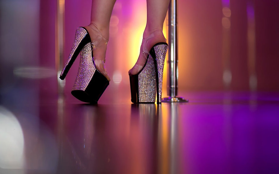 Rhinestone-Pleaser-Stilettos-Pole-Dance-