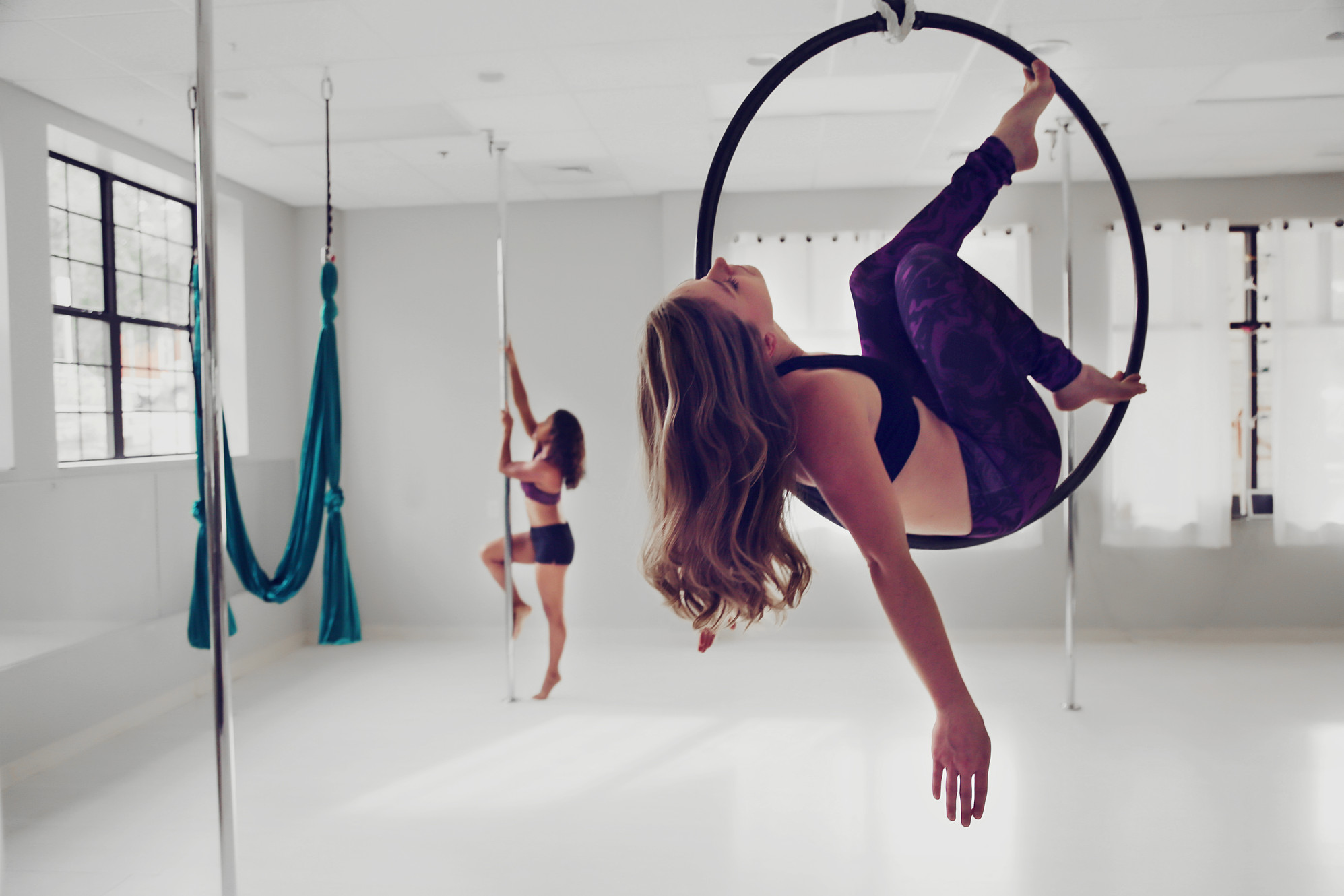 Wild Orchid Pole Aerial Yoga Aerial Hoop Classes And More