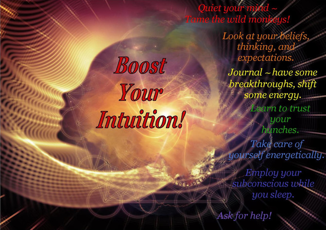 How to Boost Your Intuition!