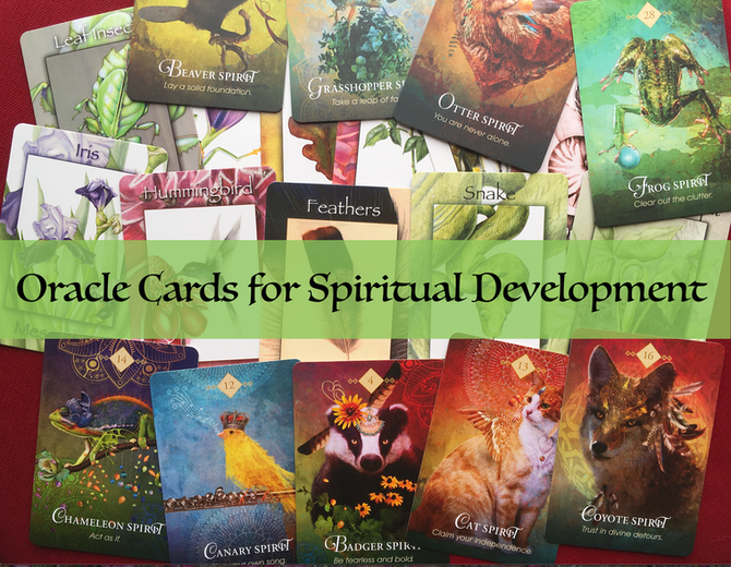 Oracle Cards for Spiritual Development