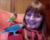 Animal communicator Phee Nugent lovebirds