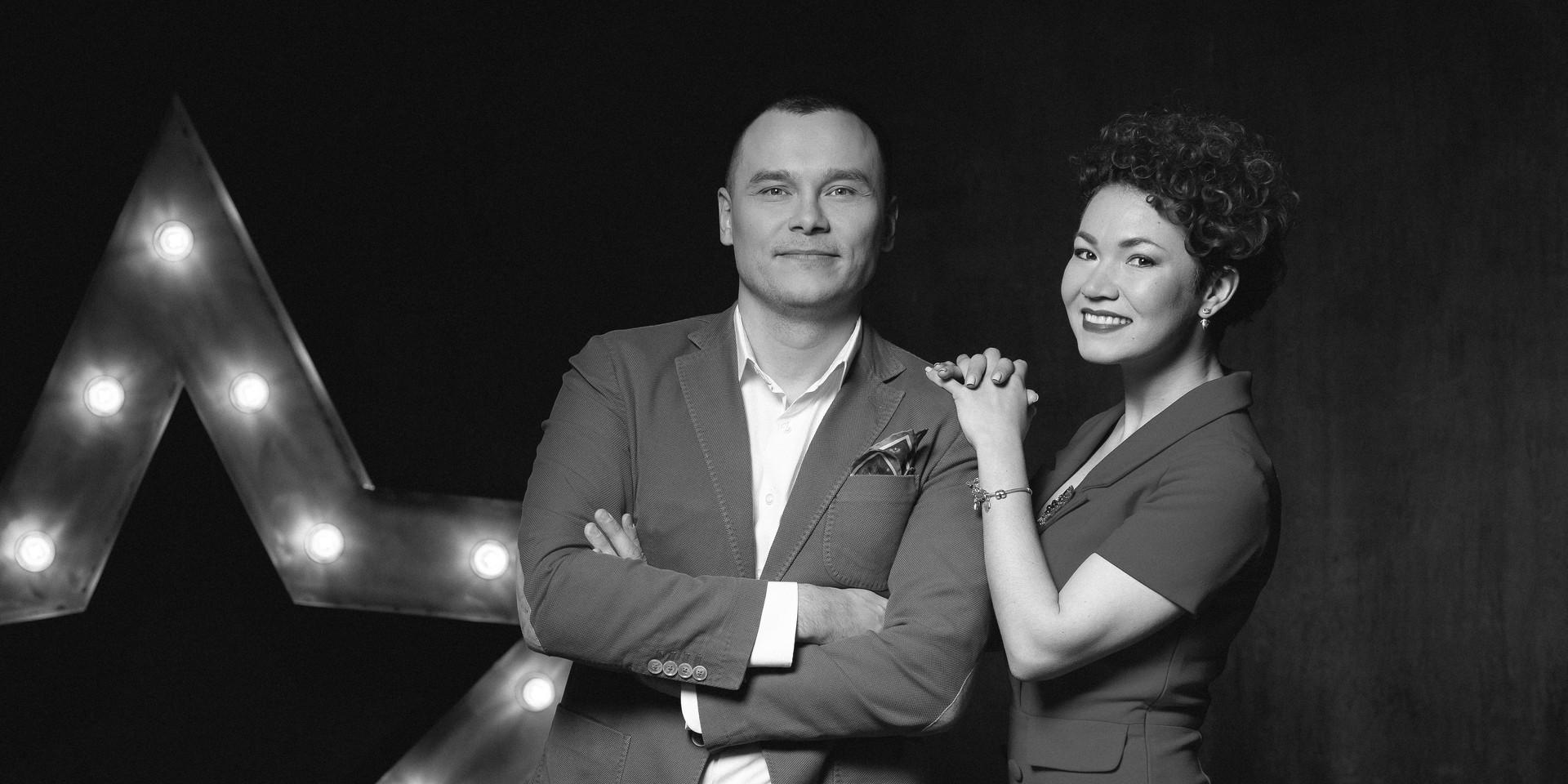 Айдар Гараев и Елена Гущина