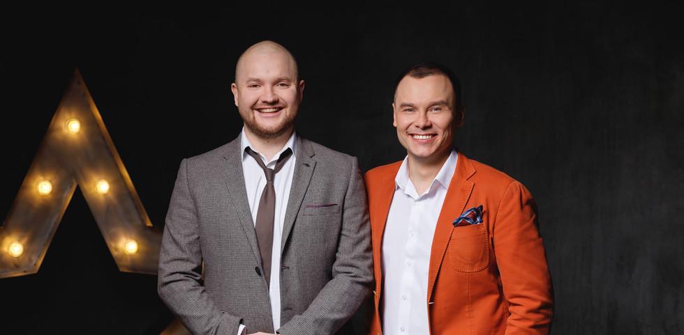 Александр Алымов и  Айдар Гараев