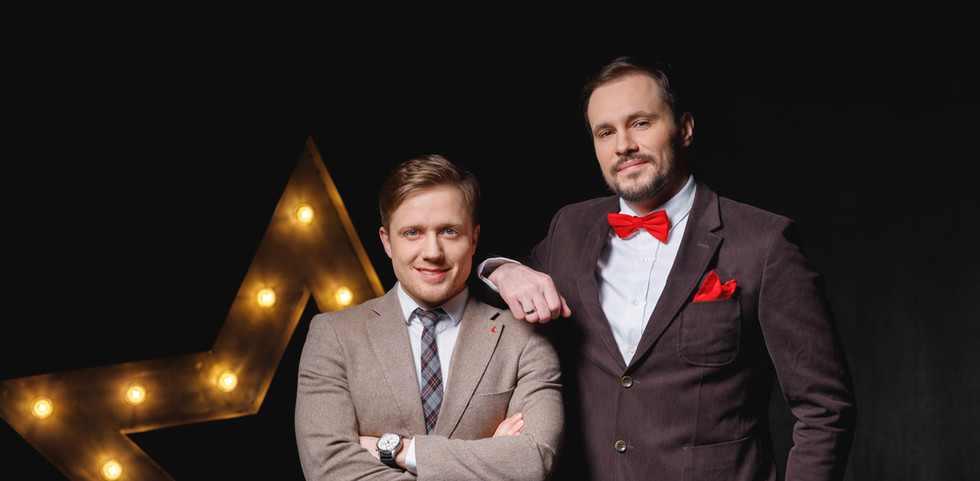Виктор Щетков и Кирилл Коковкин