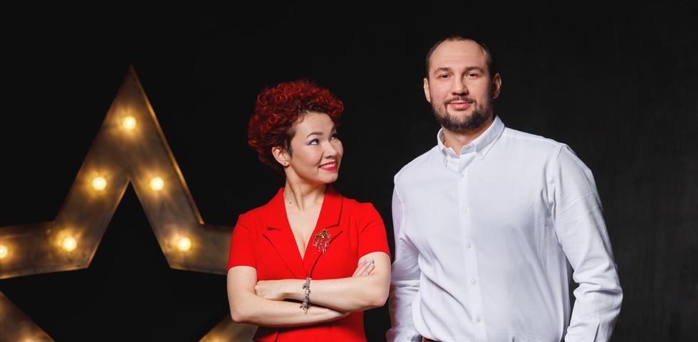 Елена Гущина и Анатолий Юрченко