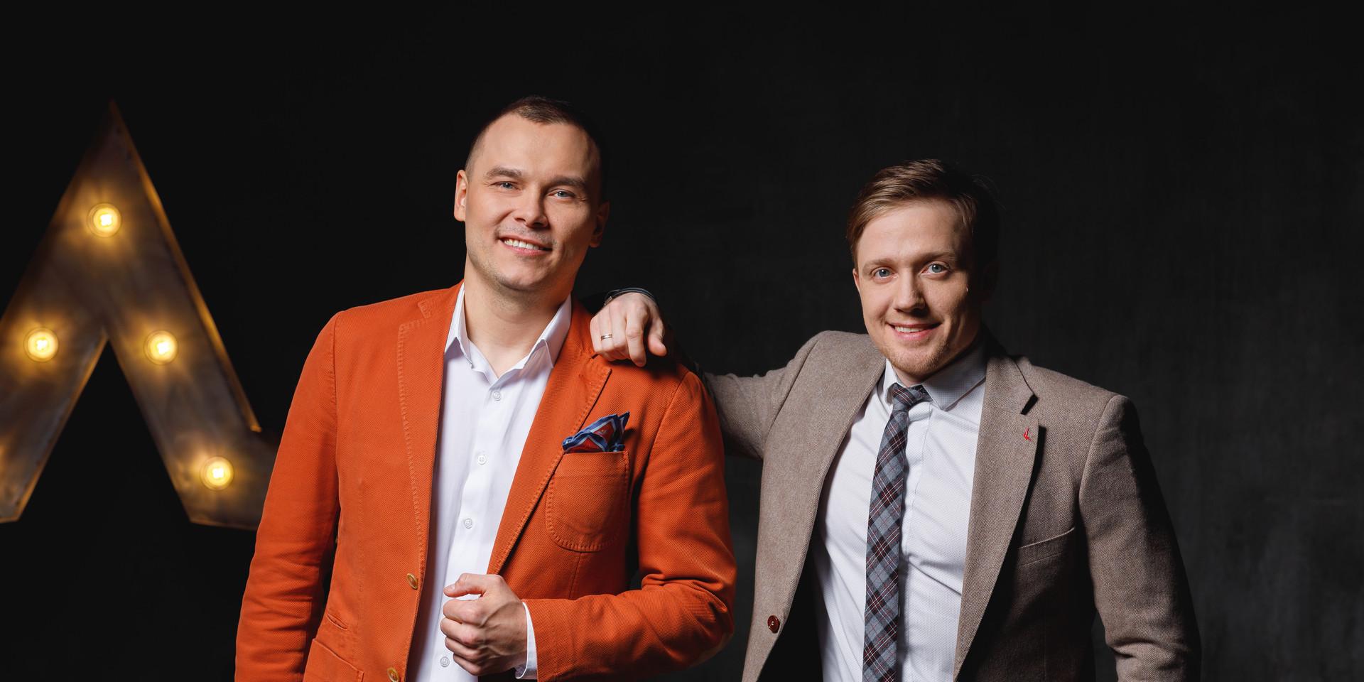 Айдар Гараев и Виктор Щетков
