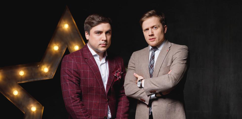 Артём Муратов и Виктор Щетков
