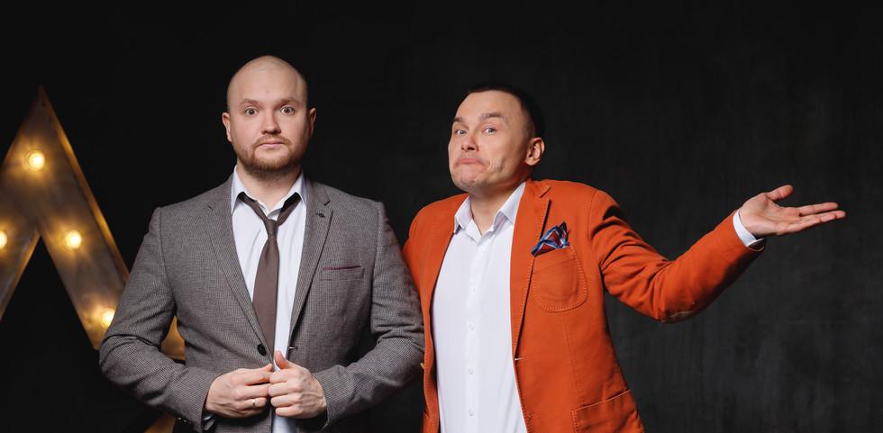 Алексвандр Алымов и Айдар Гараев
